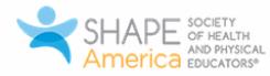 Shape America logo